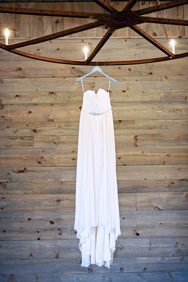 Hayley Paige boho bridal gown | Catrina Earls Photography