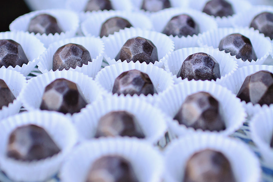 Geometric truffles | Catrina Earls Photography