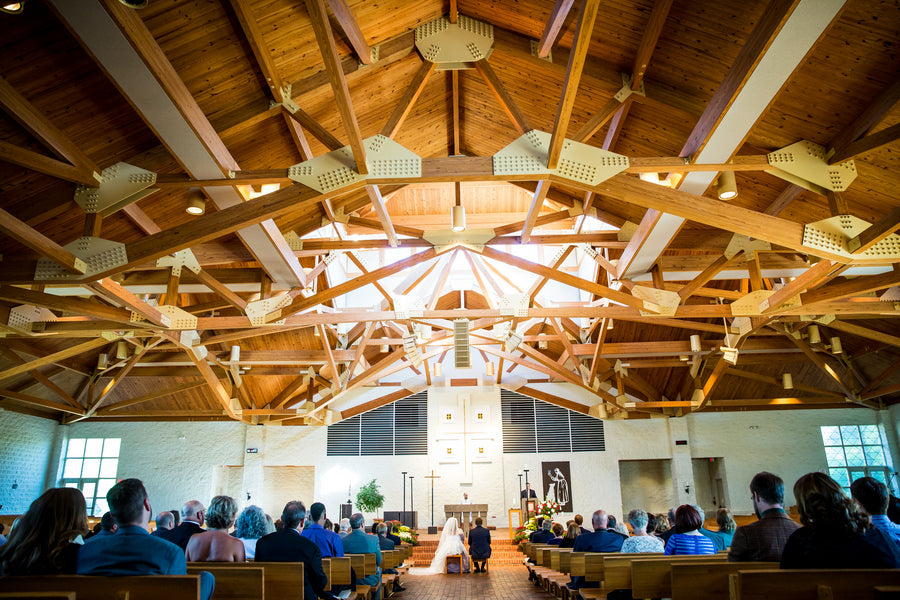 Ceremony  | Aviation Themed Wedding | Red Bridge Photography