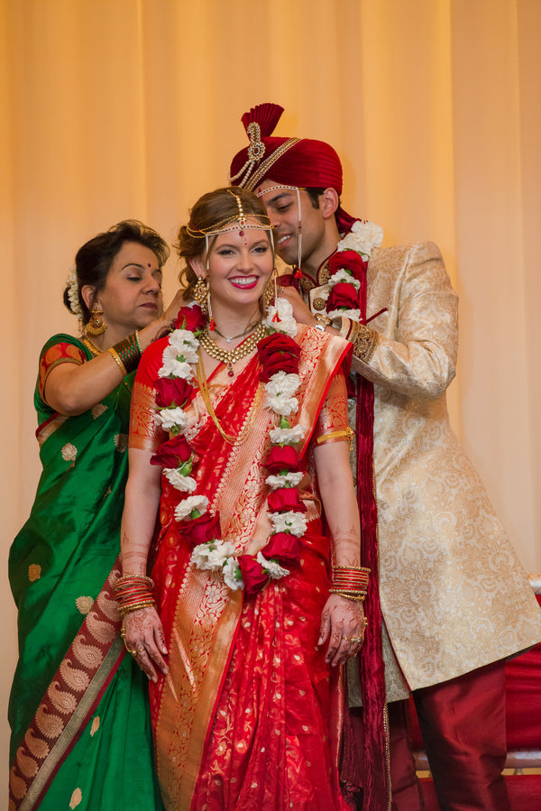 Ceremony Ritual | A Vibrant Indian Fusion Wedding | Kate Aspen