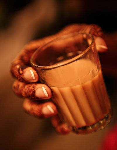 Chai at Indian Wedding Anup J Kat via Marry Me Weddings