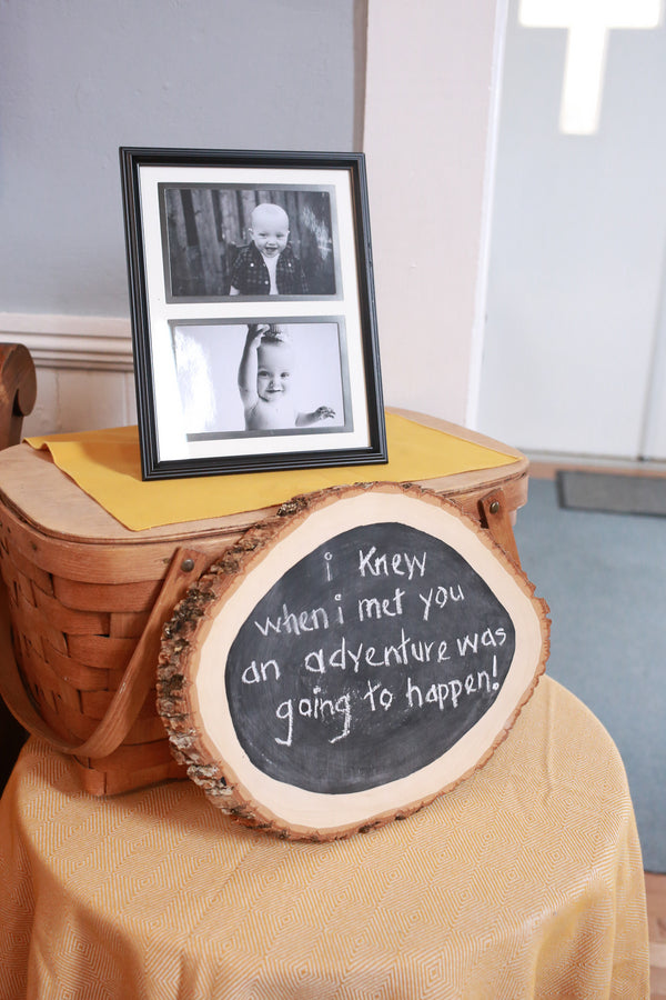 Adventure Quote| Winnie the Pooh First Birthday Party | Whit Meza Photography