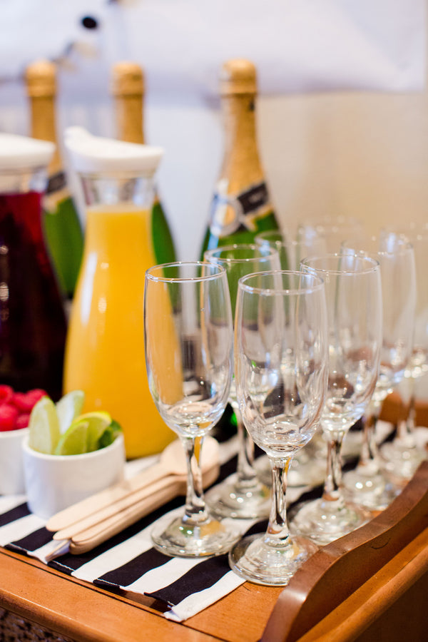 Mimosa Bar For Adults | First Birthday Party | Katie Woody Photography