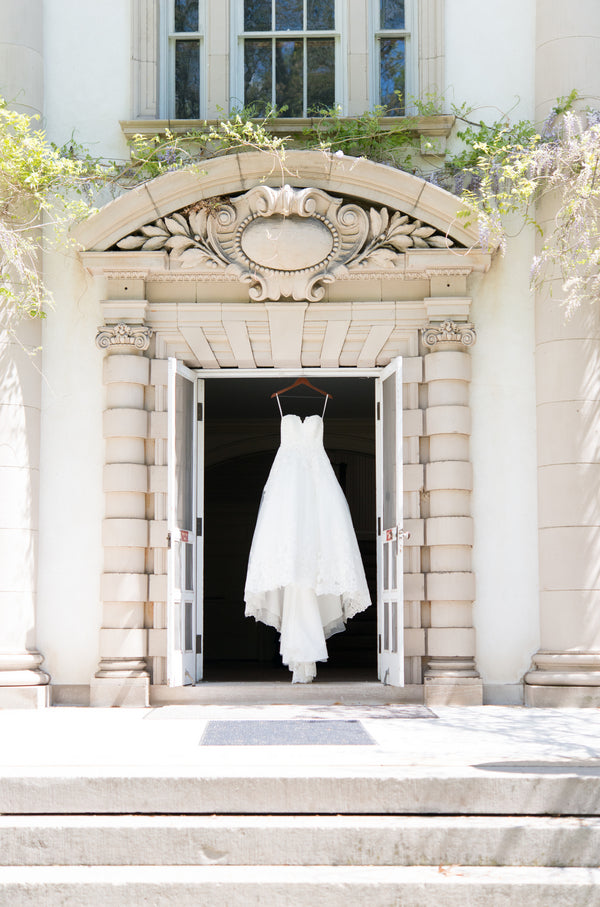First Dress | Opulent Mansion Wedding | Daisy Saulls Photography