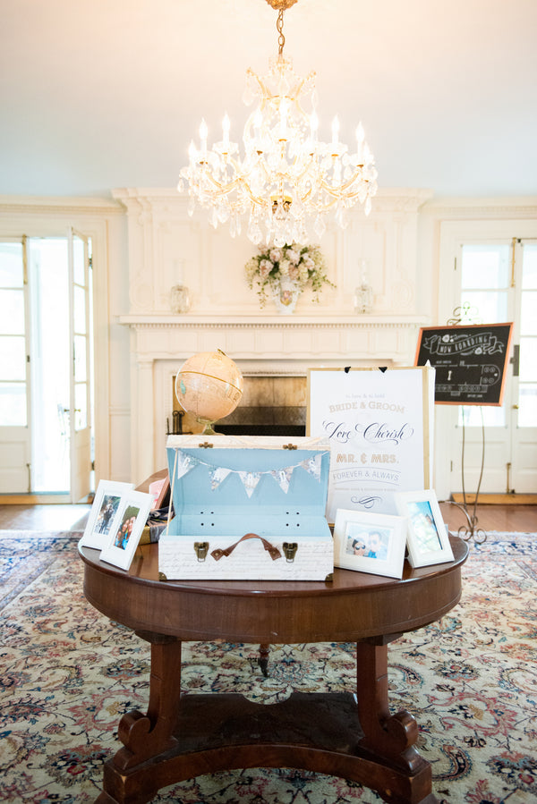 Welcome Table | Opulent Mansion Wedding | Daisy Saulls Photography