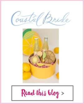 Coastal Bride - Cheery Chic: Lemon Soap, Lemon Cheeseboard, Citrus Spreaders