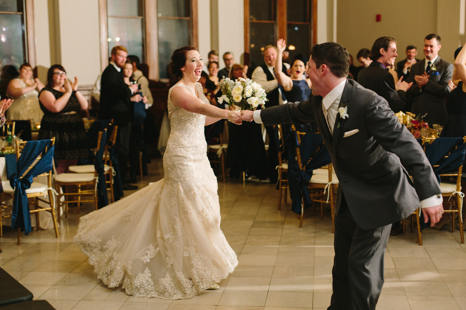 Bride and Groom Dancing | Best of 2018: Kate Aspen Wedding Features | Kate Aspen