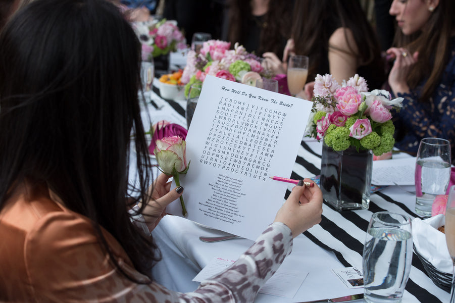 Bridal Shower Games | Photography by Life In Reverie | Kate Aspen