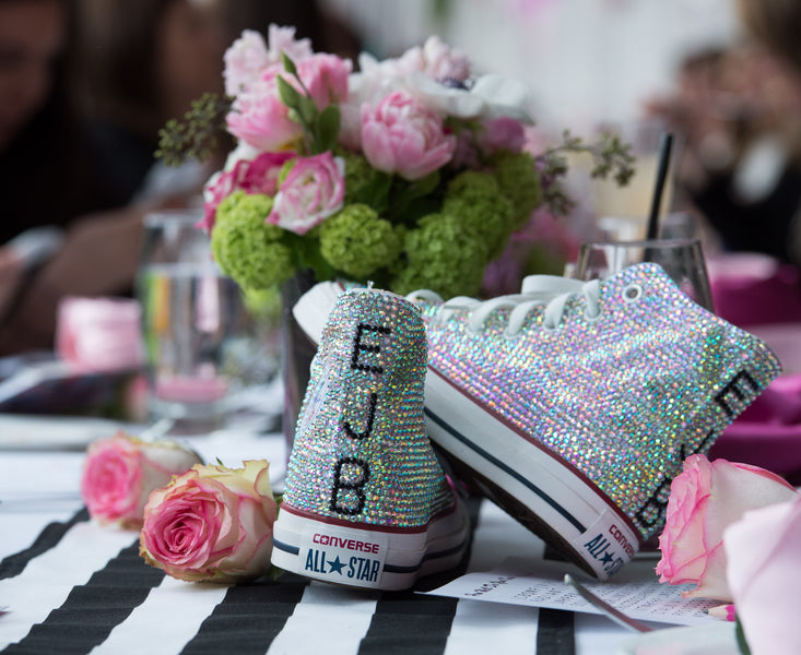 Rhinestone Converse High Tops | Photography by Life In Reverie | Kate Aspen