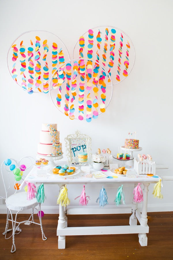 Confetti and Sprinkles Baby Shower | 10 Unique and Interesting Baby Shower Themes | Kate Aspen