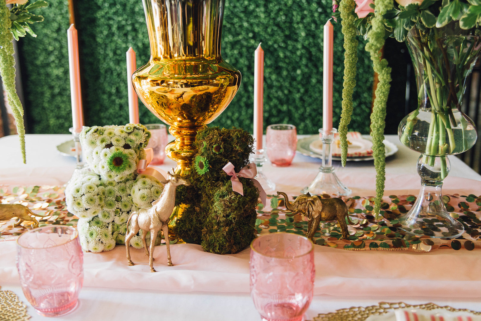 Baby Shower Table Decor | A Luxe Circus Baby Shower | Kate Aspen