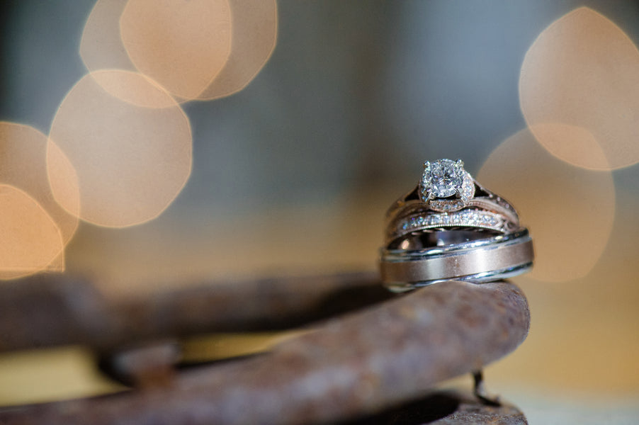 Wedding Rings  | Spring Rustic Barn Wedding | Time Into Pixels Photography