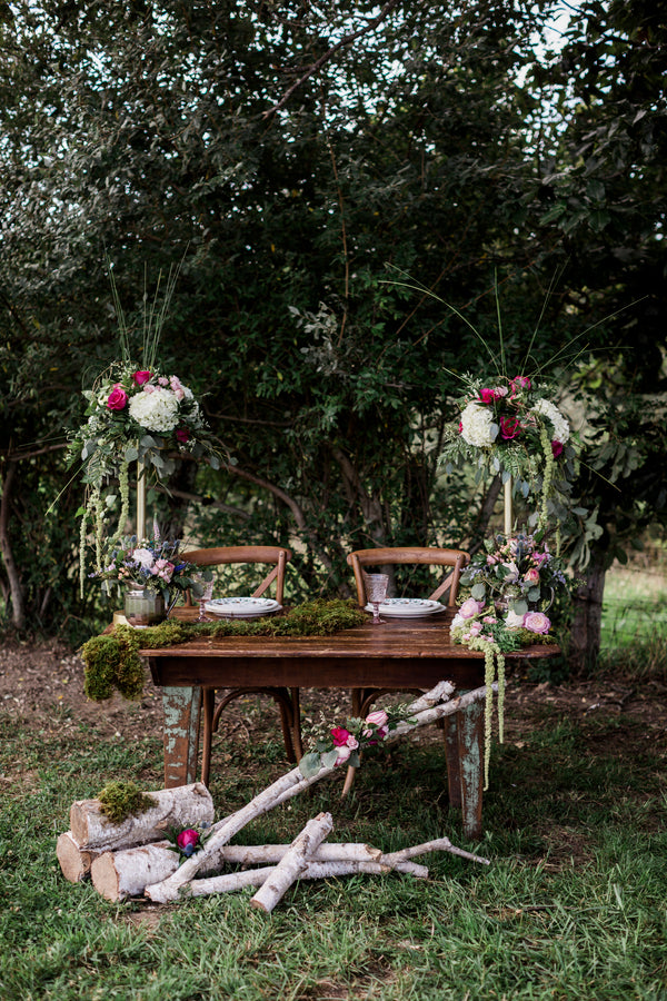 Couples Table | Details For The Perfect Floral Wedding | Kate Aspen