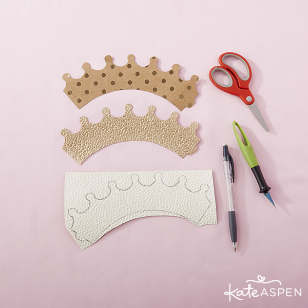DIY Crown Tutorial Supplies 2