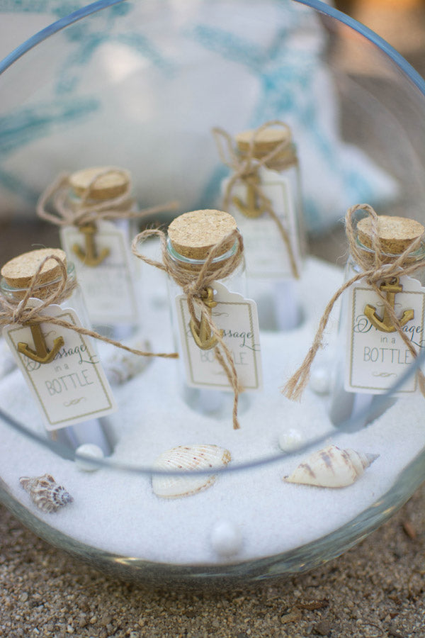 Message in a Bottle Favors from Kate Aspen