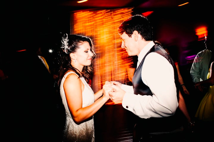 Bride and groom dancing | Derk's Works Photography