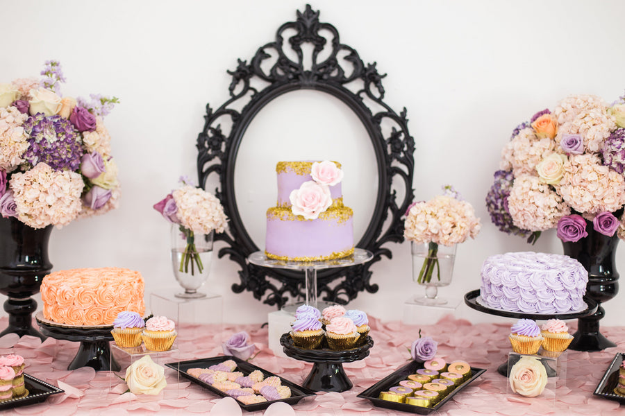 A Beautiful Dessert Table  | Tutu Cute Valentine's Day Party | Stephanie Massaro Photography