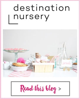 Destination Nursery - Milk Jars, Pink Whisk