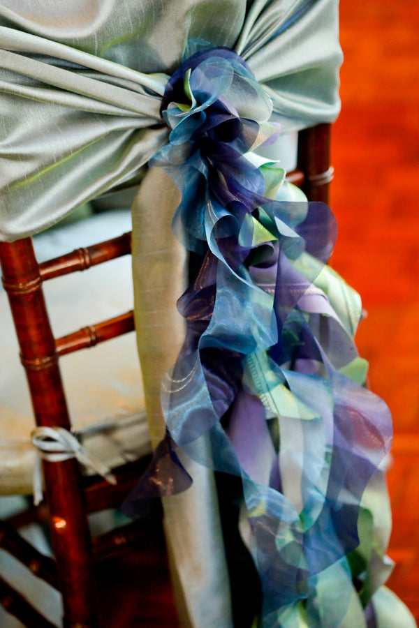 Detail of Bride's Chair | Pepper Nix Photography