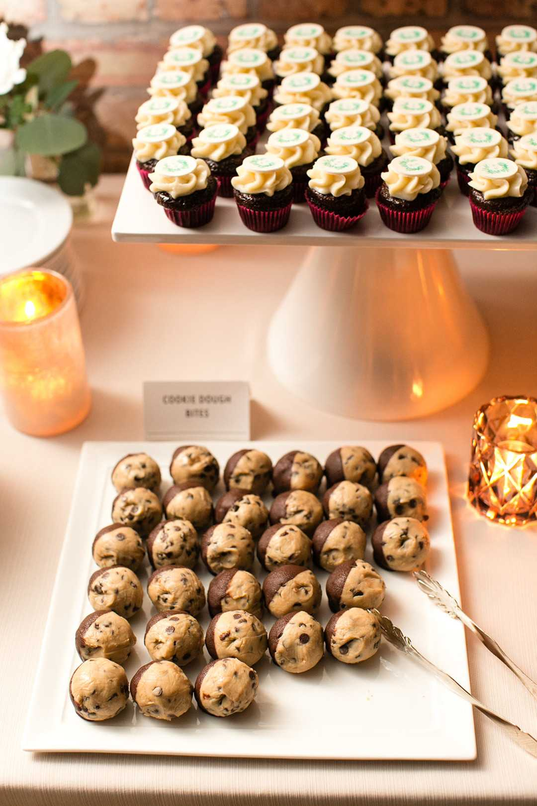 Dessert Table | 2 Over the Top Rooftop weddings | Kate Aspen