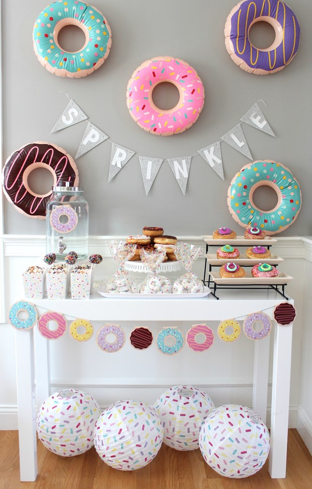 Donut Shower | 10 Unique and Interesting Baby Shower Themes | Kate Aspen