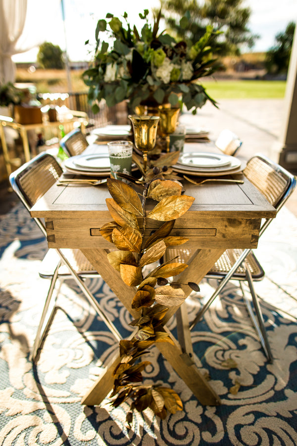 Elegant Table Inspiration | Al Fresco Vintage Wedding Shoot | Aldabella Photography