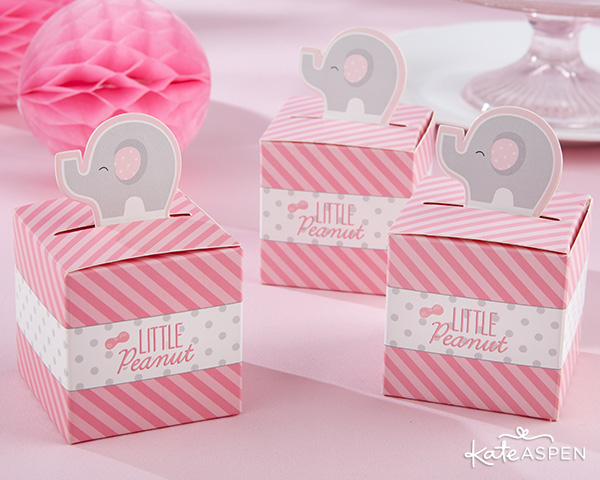 Little Peanut Pink Favor Boxes | Kate Aspen