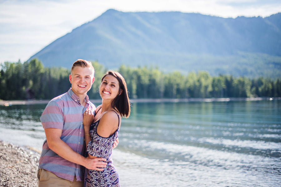 Engaged Couple in the Mountains | 5 Unique and Adorable Engagements | Kate Aspen