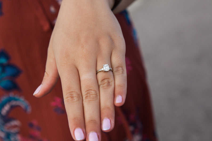 Engagement Ring With Pink Nails | 5 Unique and Adorable Engagements | Kate Aspen