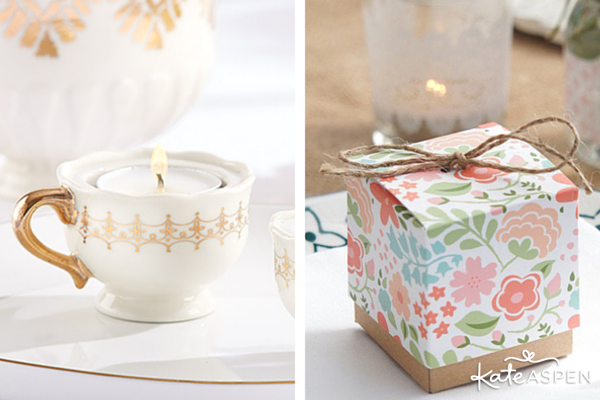 The Perfect Favors for an English Garden Wedding | @KateAspen | KateAspen.com