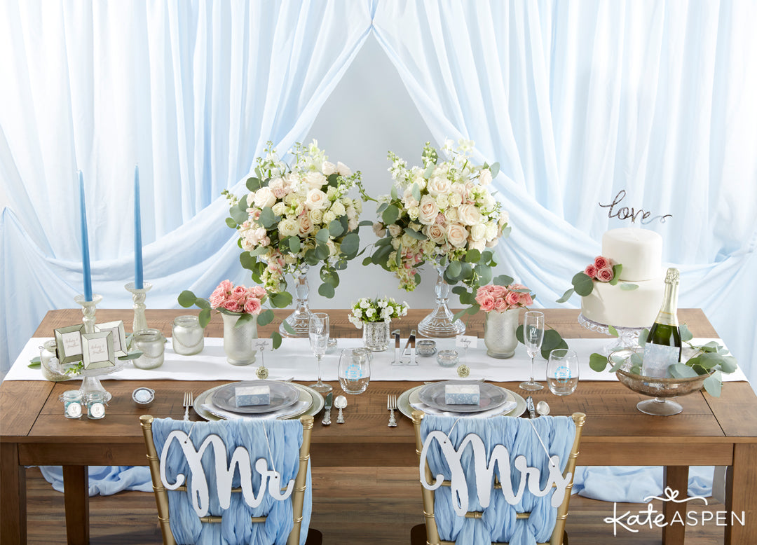 Ethereal Dream Tablescape | 12 Must Have Accents for a Whimsical Wedding | Kate Aspen