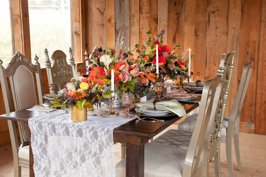 Fall Wedding Tablescape |  Tana Photography LLC
