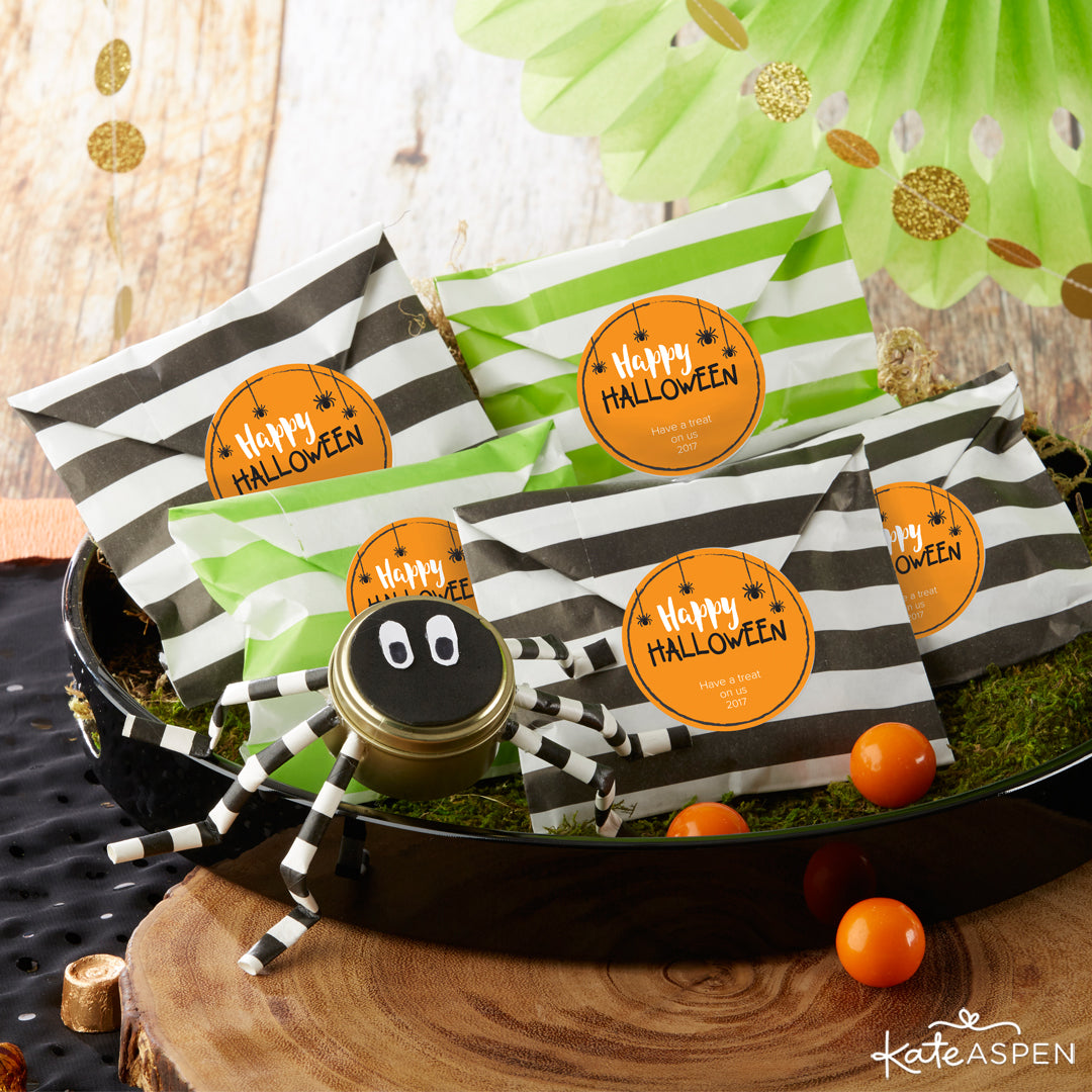 Personalized Favor Bags | Halloween Party Pack Giveaway | Kate Aspen