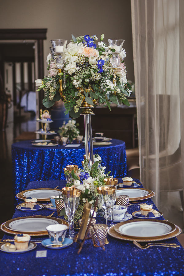 Bold Colored Tablescape | Ten·2·Ten Photography | 5 Stylish Ideas for a Teacup Wedding | Kate Aspen