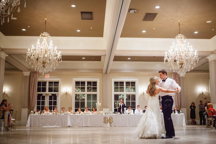 First Dance | Blush and Gold Wedding | Asteria Photography