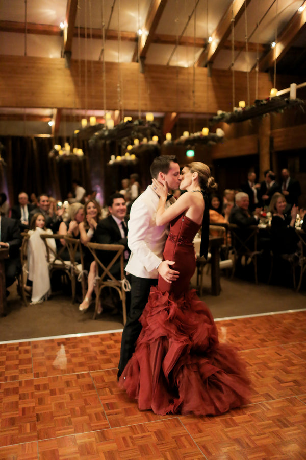 First Dance | Burgundy Fall Wedding | Pepper Nix Photography