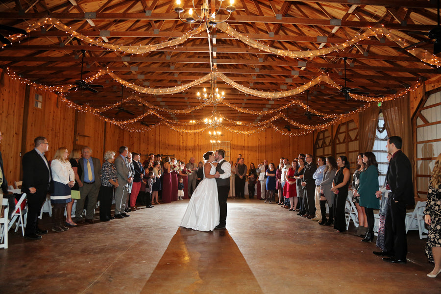 First Dance | ImpressionsPhotography | A Flannel Filled Fall Wedding | Kate Aspen