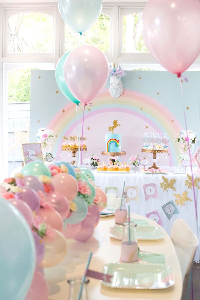 Pastel Unicorn Themed Party | 8 Simply Sweet Party Ideas | Kate Aspen