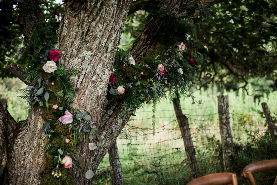 Flowers In Tree | Details For The Perfect Floral Wedding | Kate Aspen