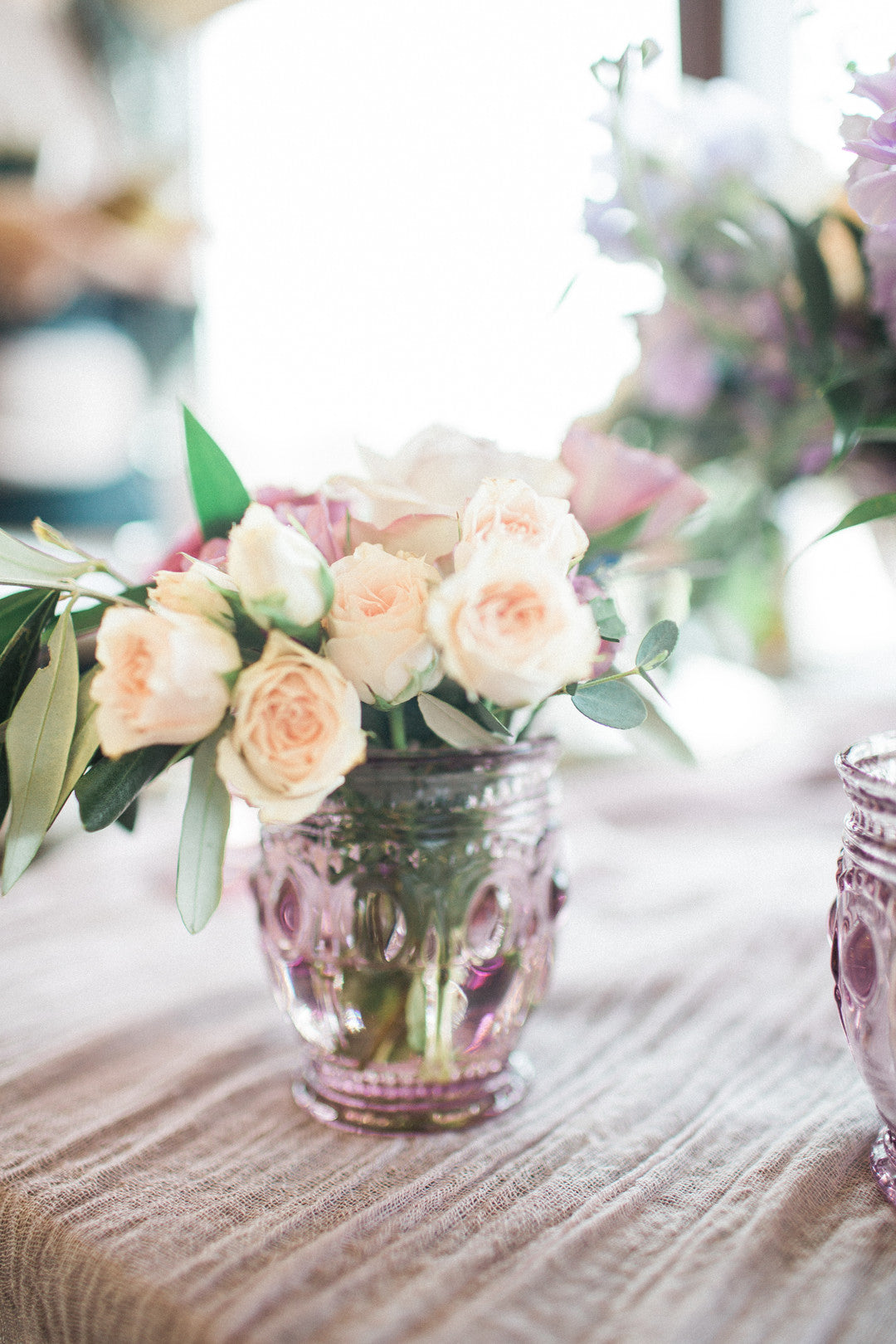 Flowers In Vase | Tips For the Perfect Floral Bridal Shower | Kate Aspen
