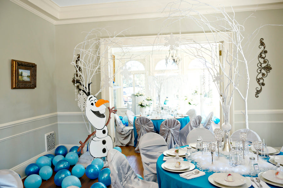 A Magical Frozen Birthday Party Fit For A Princess Kate Aspen