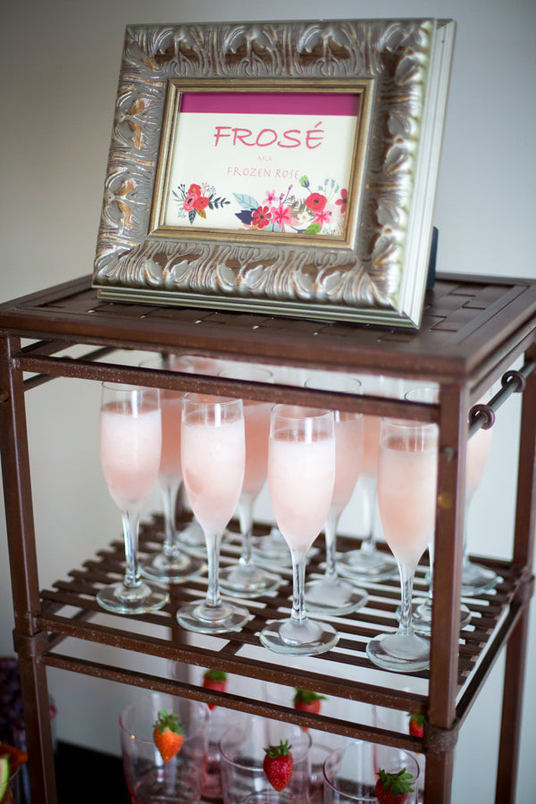 Frose Table | A Magical Pink Baby Shower | Kate Aspen