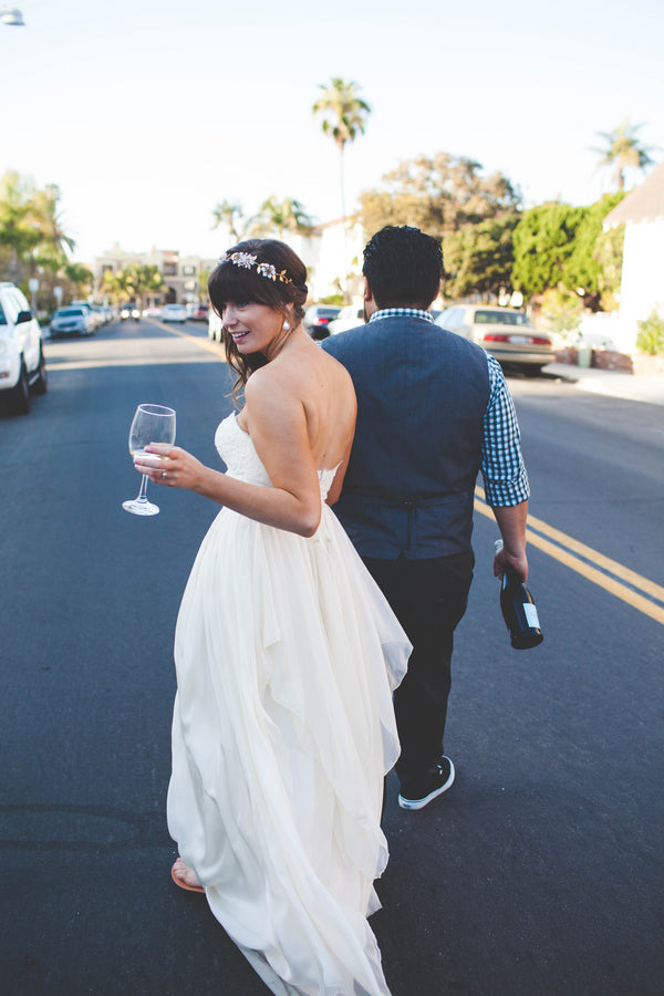 Candid bride and groom portrait | Jessica Miriam Photography