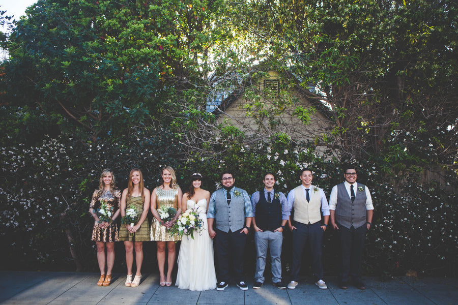 Mismatched wedding party ideas | Jessica Miriam Photography