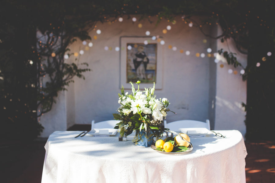 Outdoor Wedding Sweetheart Table | Jessica Miriam Photography