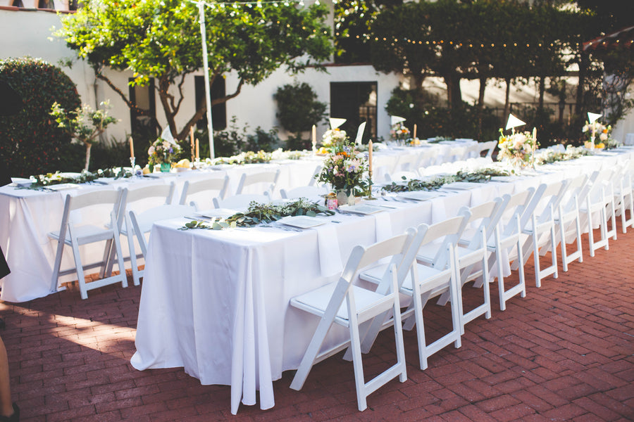 Wedding Farm Tables | Outdoor La Jolla Wedding | Jessica Miriam Photography