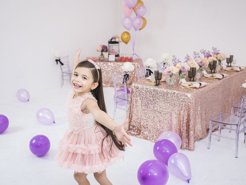 Happy Party Girl  | Tutu Cute Valentine's Day Party | Stephanie Massaro Photography