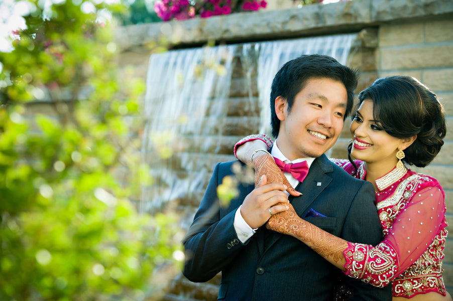 Groom and Bride | Hindu Chinese Wedding | HRM Photography