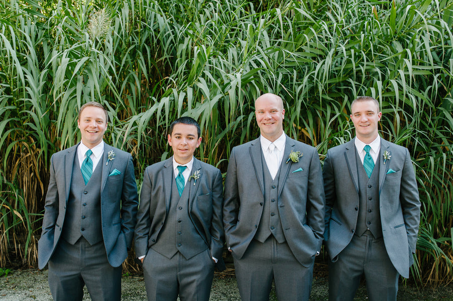 Groom and Groomsmen | Plantation Wedding in Charleston | Riverland Studios