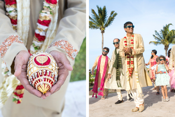 Baraat | Indian Fusion Beach Wedding in Cancun | Adrienne Fletcher Photography